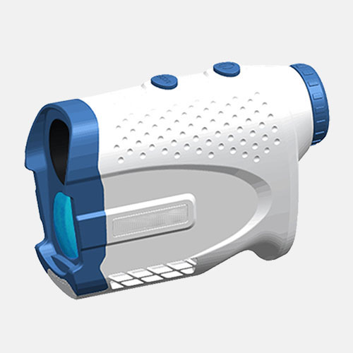 lindu optics golfplus white blue 1000M golf laser rangefinder pinseeker and slope