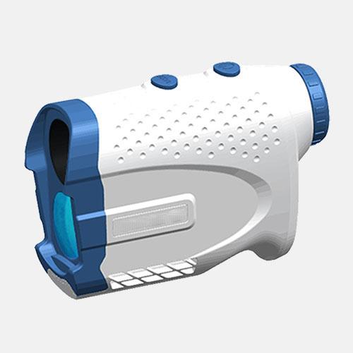 lindu optics golfplus white blue 700M golf laser rangefinder pinseeker and slope 2