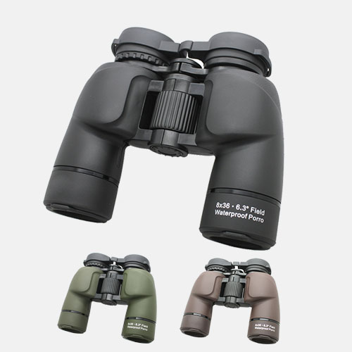 lindu optics waterproof porro 8x36 binoculars