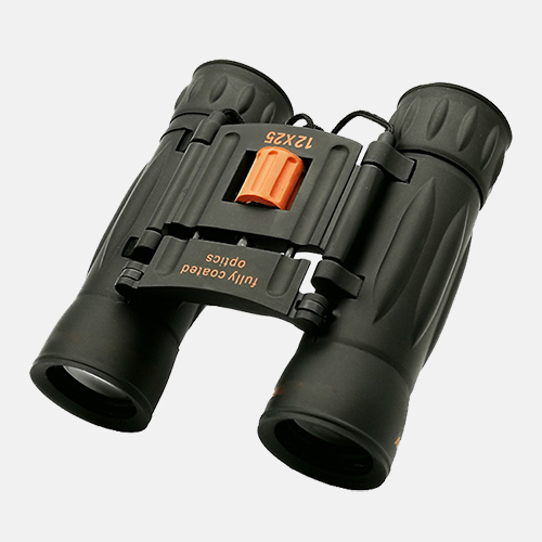 lindu optics celestron 12x25 binoculars red