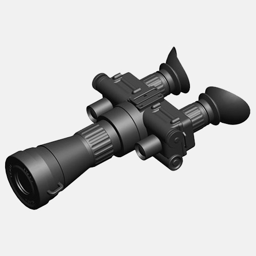 lindu optics gen 2+ 3 image intensifier tube night vision goggles 4x