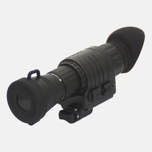lindu optics gen 2+ 3 image intensifier tube night vision monocular 3x
