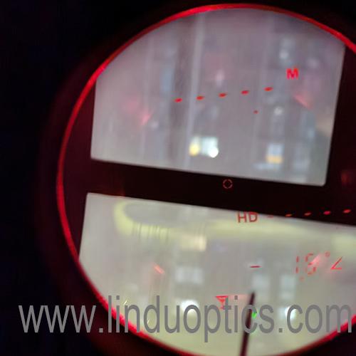 Lindu optics Military laser 8x42 binoculars rangefinder night vision function show