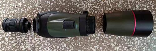 lindu optics 15-45x60 spotting scope